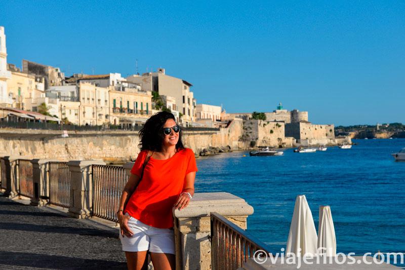 Las vistas de Siracusa, una escala imprescindible de un viaje a Sicilia