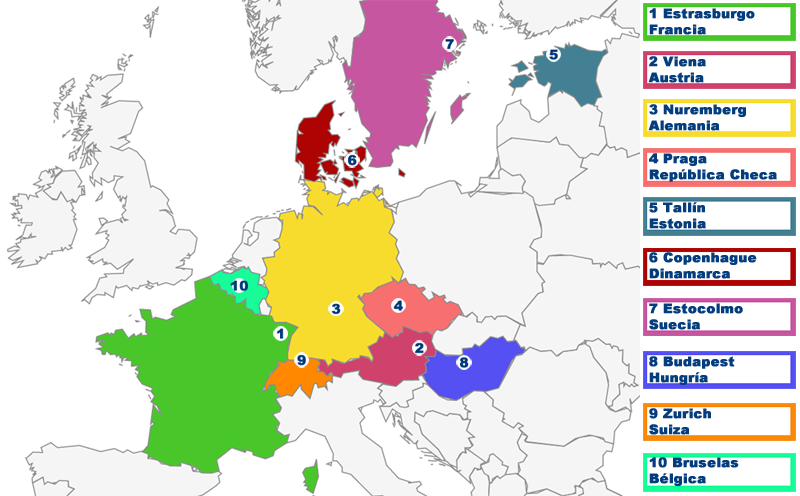 Los mercados de Navidad más tradicionales de Europa