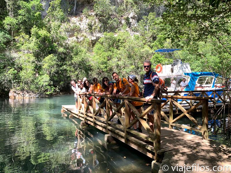 Visitando las cuevas y manglares del PN de los Haitises