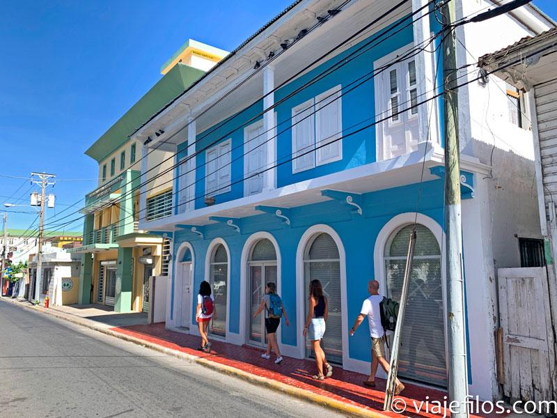 La visita de la ciudad de Puerto Plata