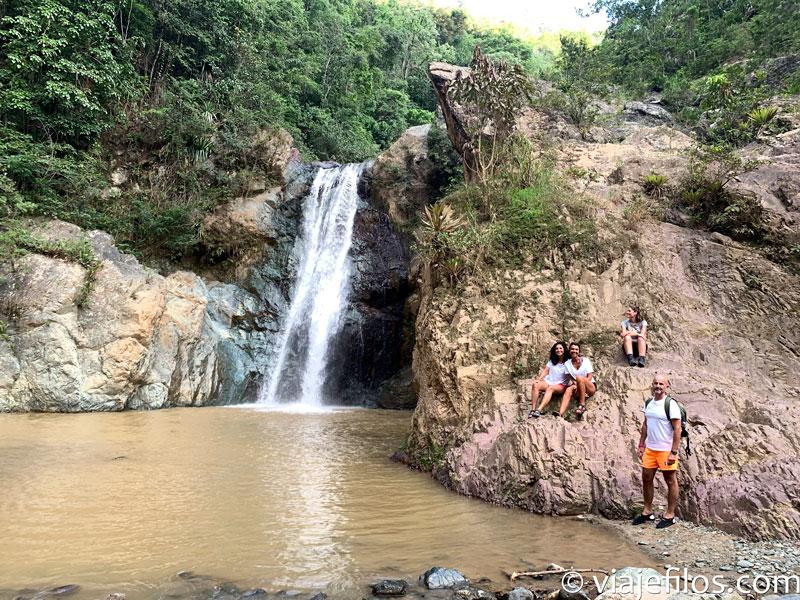 Los saltos de agua en Jarabacoa