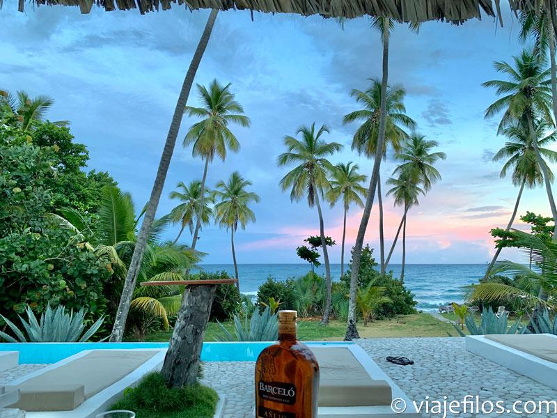 Atardecer en Barahona. Un viaje por libre a Dominicana