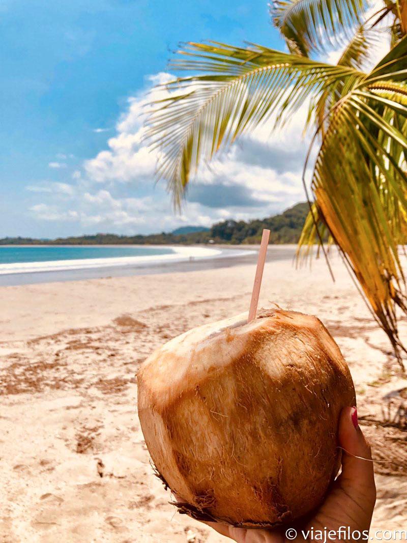 Las playas de Samará en Costa Rica, otra escala imprescindible de un viaje de 30 días recorriendo Costa Rica
