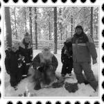 Viajar a la Laponia sueca con niños