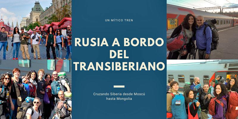 Grandes viajes: Cruzando Rusia a bordo del Transiberiano
