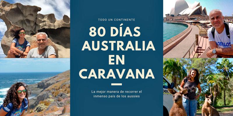 Grandes viajes: 80 días en Australia con caravana