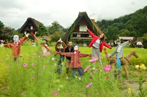 Sirakawago, la opinión de un viaje a Japón