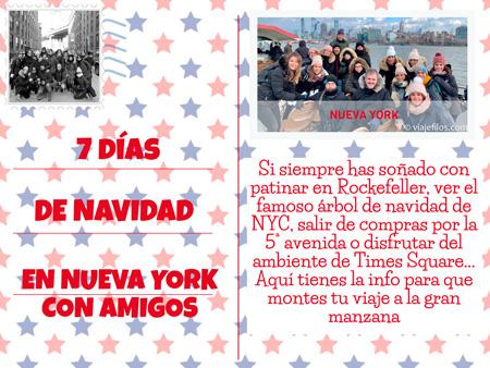 Cómo organizar una semana a NYC en Navidades