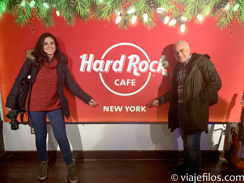 Hard Rock Café de Times Square de Nueva York