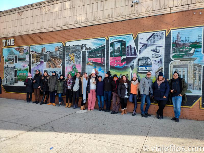 Visitando el Bronx de Nueva York
