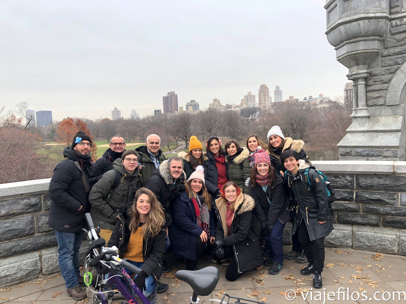Central Park en bicicleta
