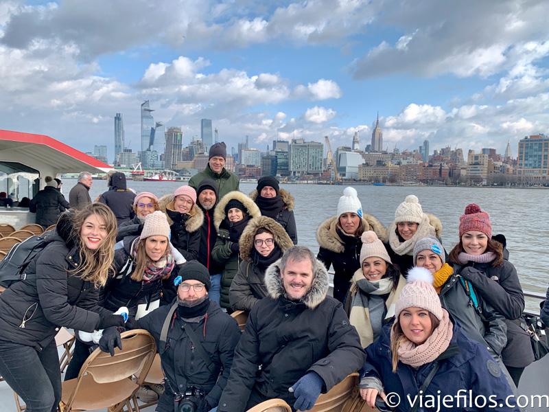Un crucero por el Hudson, una de las actividades imprescindibles en Nueva York