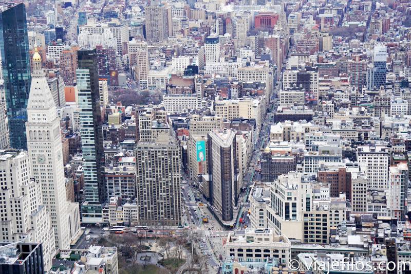 Manhattan desde el Empire State de Nueva York