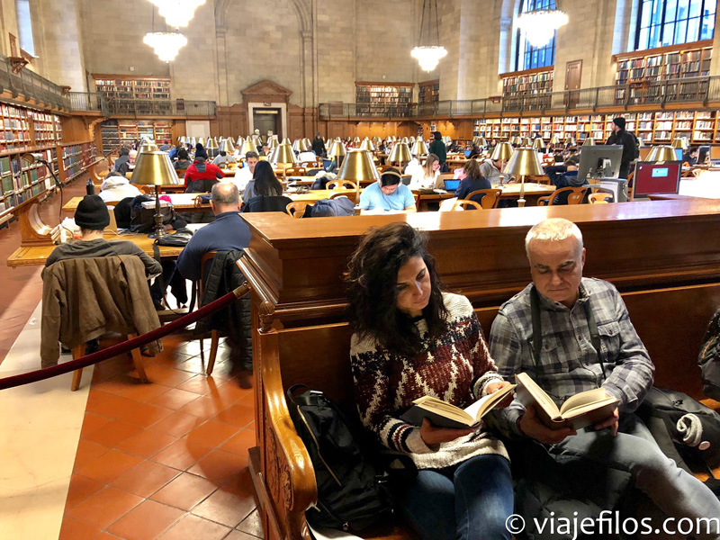 National Library de Nueva York