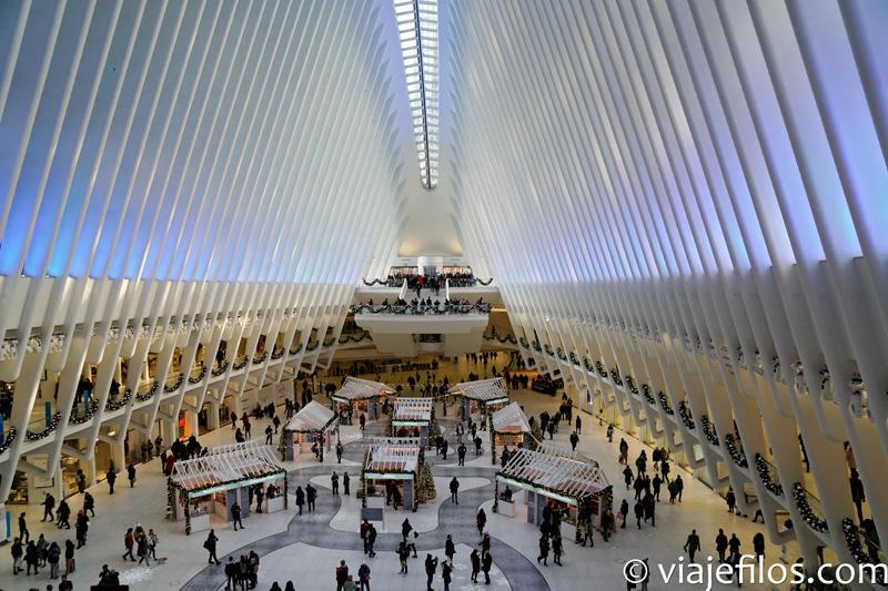 El oculus de Nueva York de Santiago Calatrava