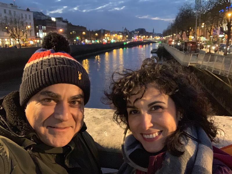 Selfie en Dublin