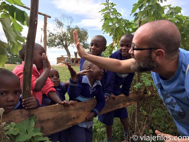 Jaume en Uganda