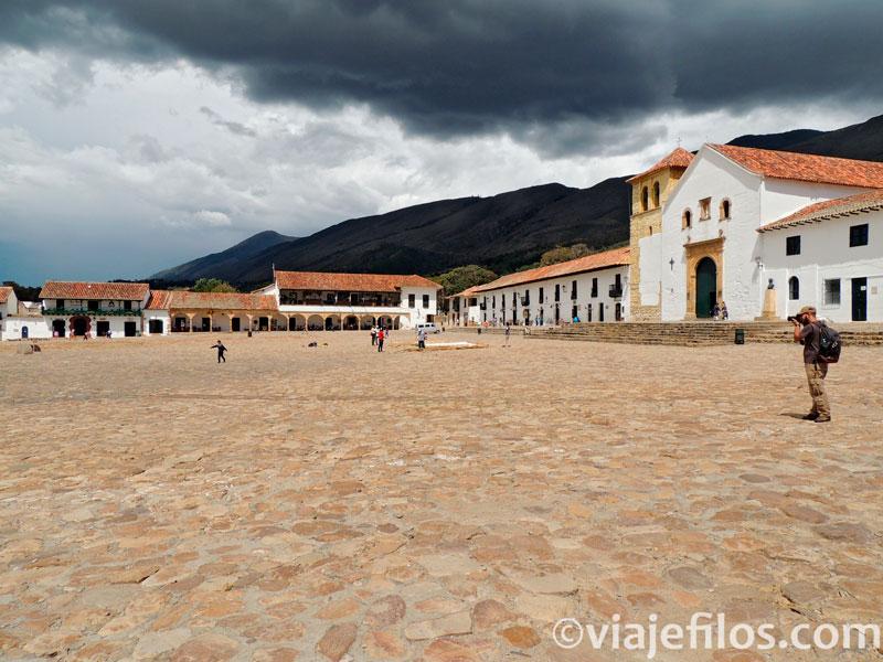 La visita de Villa de Leyva en Colombia