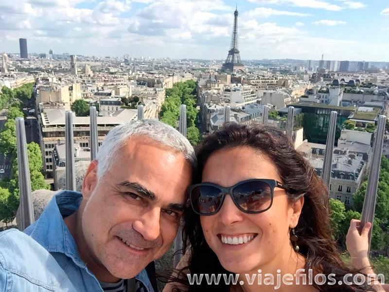 Selfie en Paris