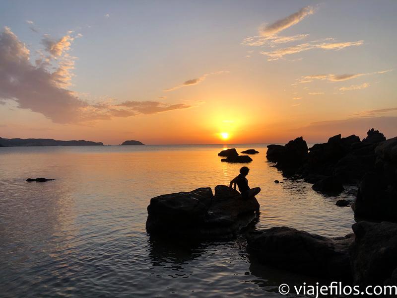 Atardecer en el Faro de Cavalleria de Menorca