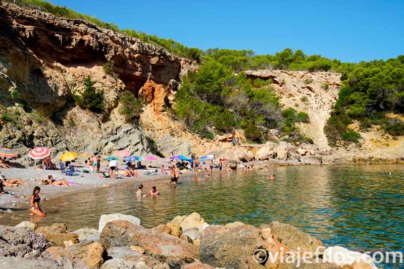 Norte de Ibiza, Cala Xarraca