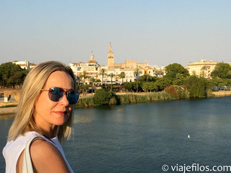 Vistas de Sevilla desde el Guadalquivir