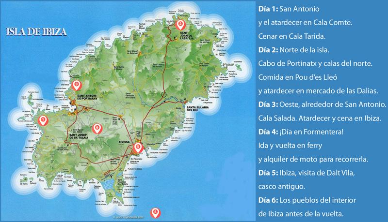 Escapada de cinco días a Ibiza