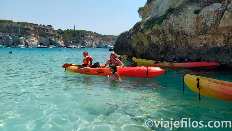 Kayak en Macarella
