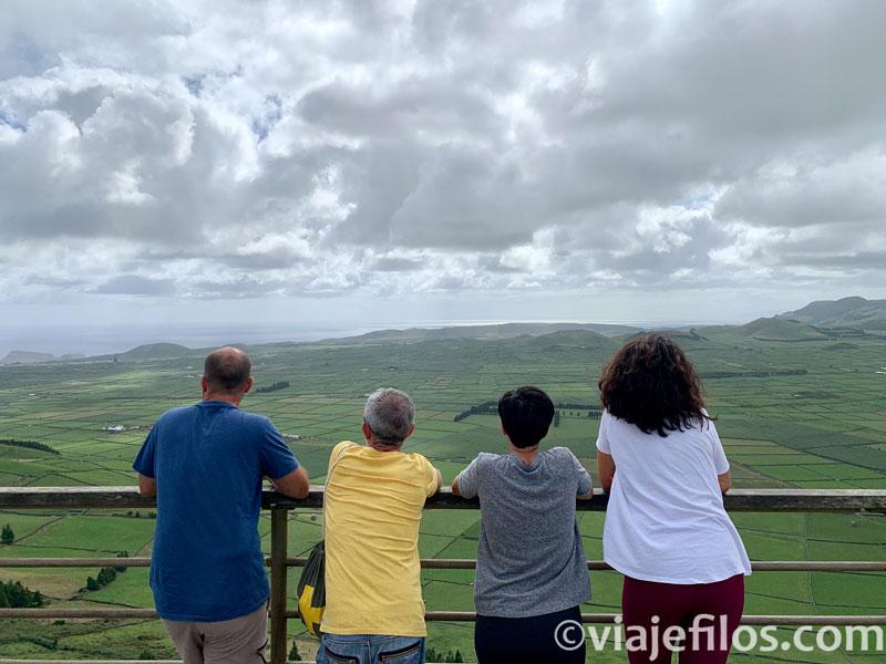 Mirador de la Sierra da Cume de Terceira