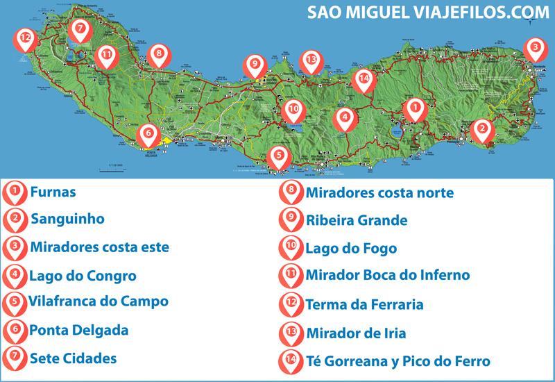 Visitas en Sao Miguel