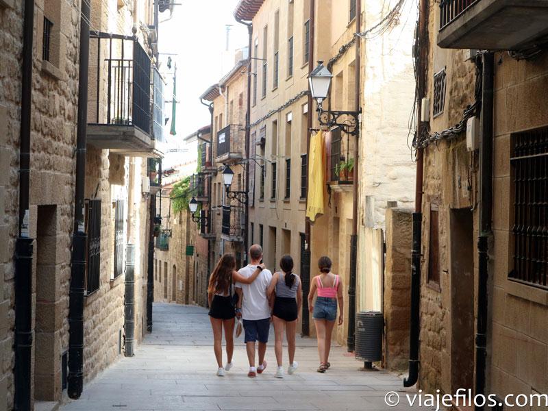 El paseo por Laguardia
