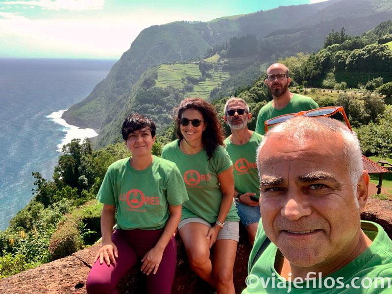 La costa noreste de Sao Miguel de Azores