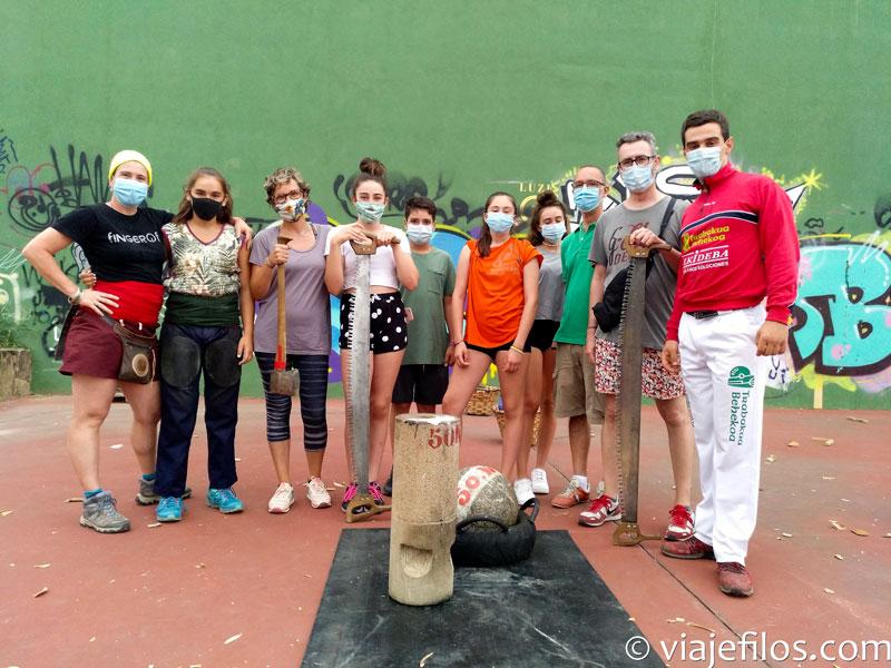 Los mejores deportes rurales vascos