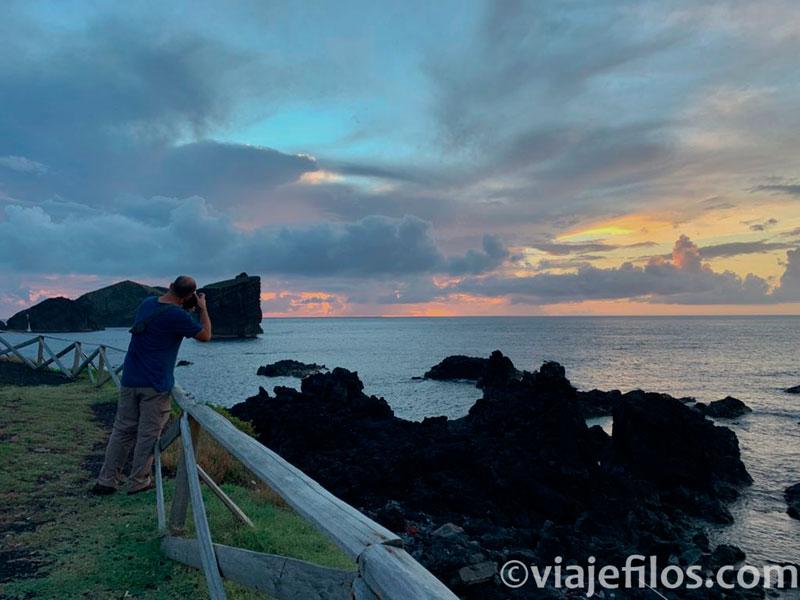 Los atardeceres en Mosteiros, Azores