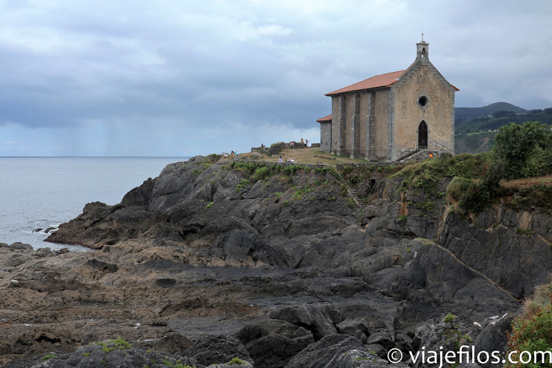 Ermita de Santa Catalina en Mundaka, País Vasco