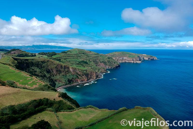 Mirador de Iria en Sao Miguel de Azores