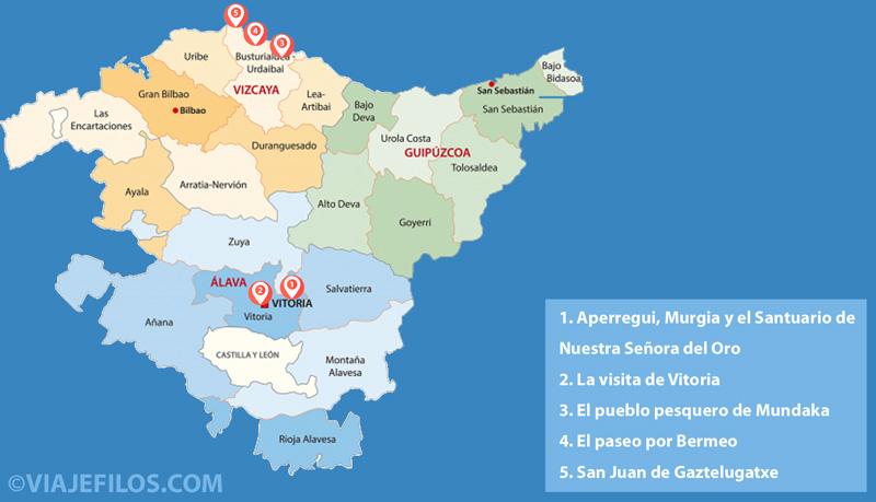 Los 3 primeros días de viaje a Euskadi: Vitoria y la costa vizcaína