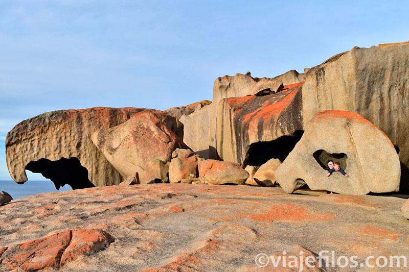 Remarkable Rocks en Flinders Chase NP