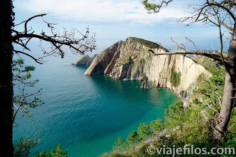 Playa de el Silencio en Asturias