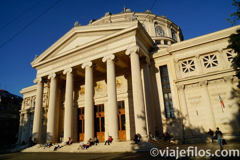 El Ateneo, sede de la filarmónica de Bucarest
