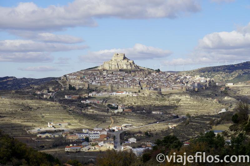 Vista de la ciudad medieval de Morella