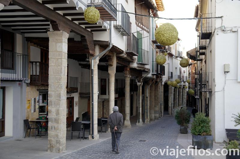 calle Blas de Alagón de Morella