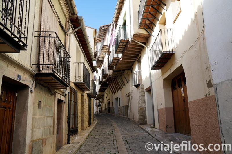 Las antiguas calles de Morella
