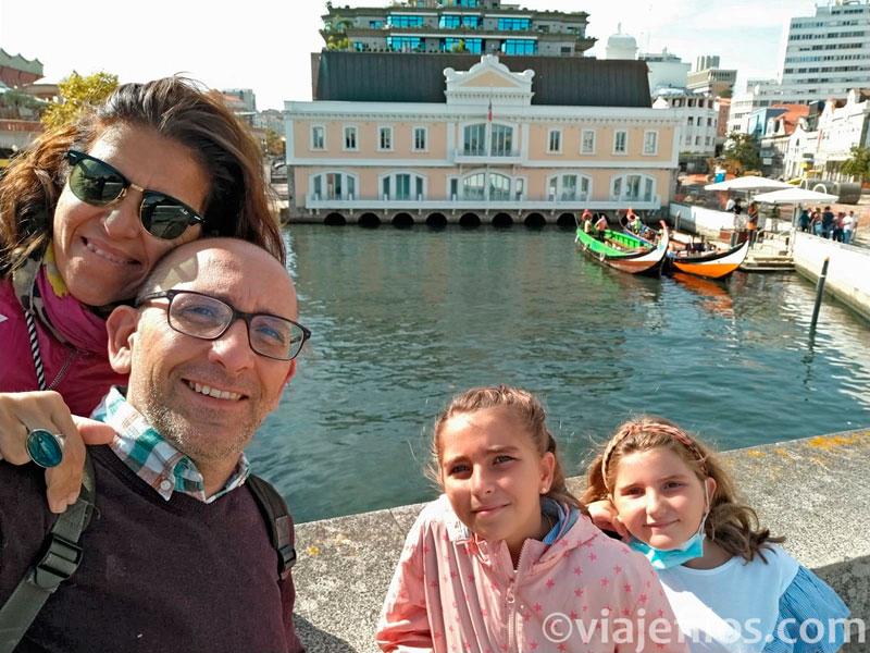 La visita de Aveiro en un día