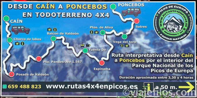 Ruta en 4x4 en los Picos de Europa