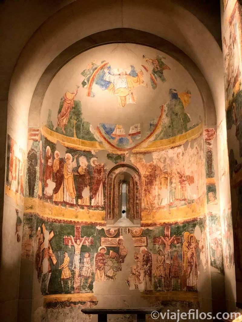 La sala Bagües del museo diocesano de Jaca