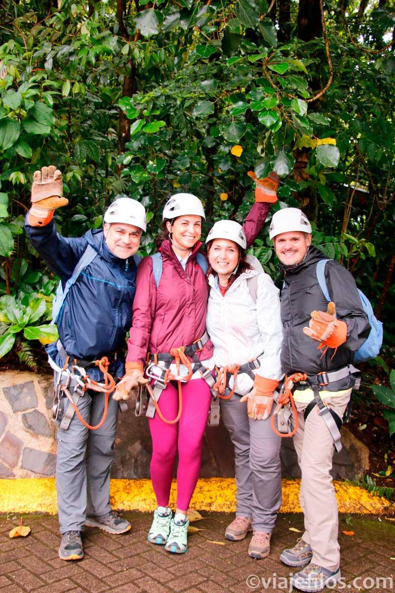 Canopy en Selvatura Park de Monteverde
