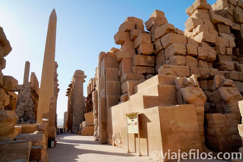 Complejo religioso de Karnak, el mayor centro de Egipto