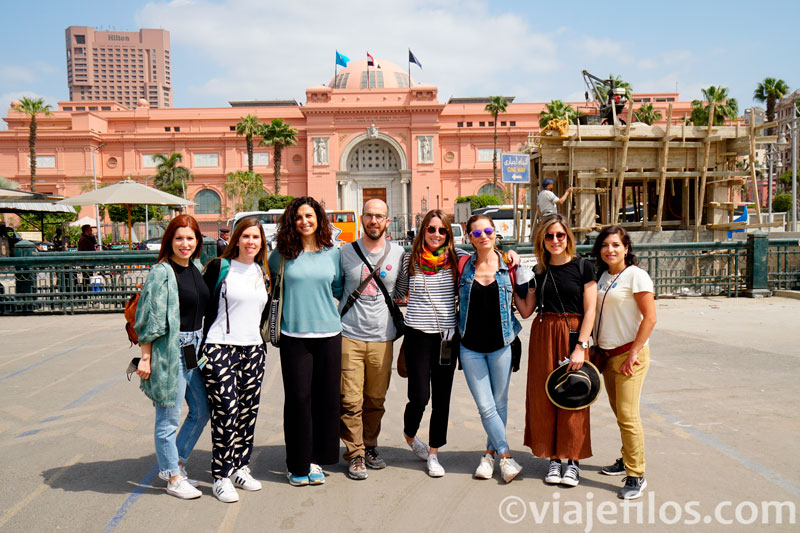La visita del Museo del Cairo en pandemia