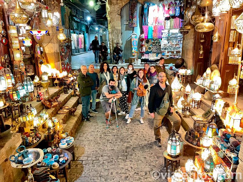 Bazar de Jan el Jalili de El Cairo